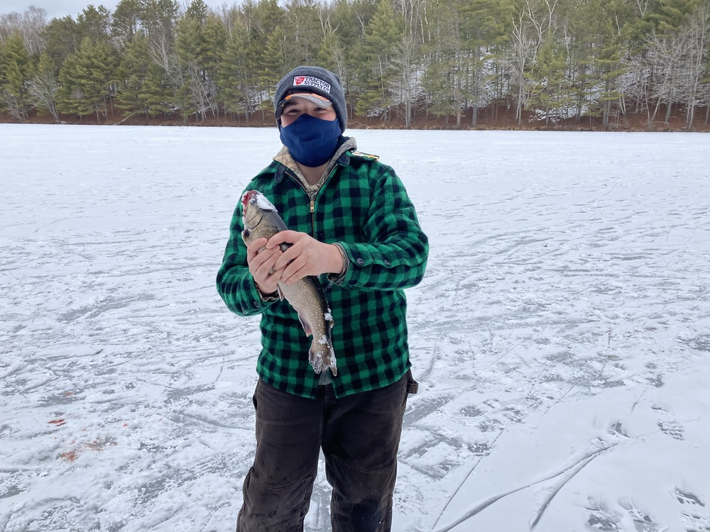 8th Grade Ice Fishing Trip