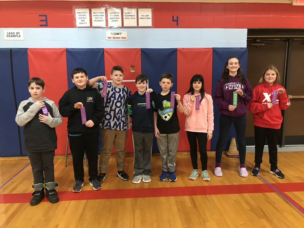 Dedham School students participate in the Eastern Maine Math League Meet
