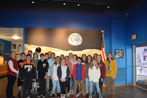 8th Grade Completes Mission at the Challenger Learning Center