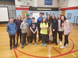 Student Council Organizes Donation to the Humane Society